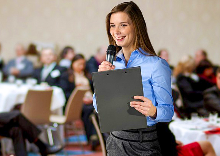 Learn how to present to an audience